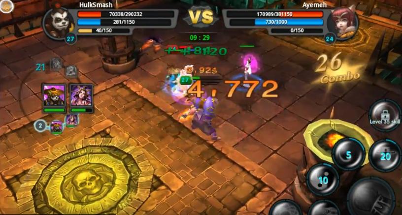 Taichi Panda Level 27 Arena Battles